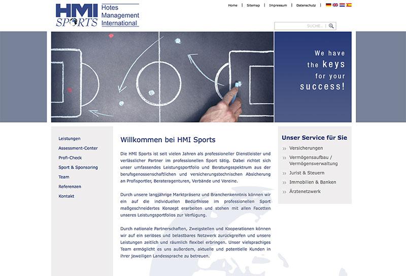 hmi-sports-website